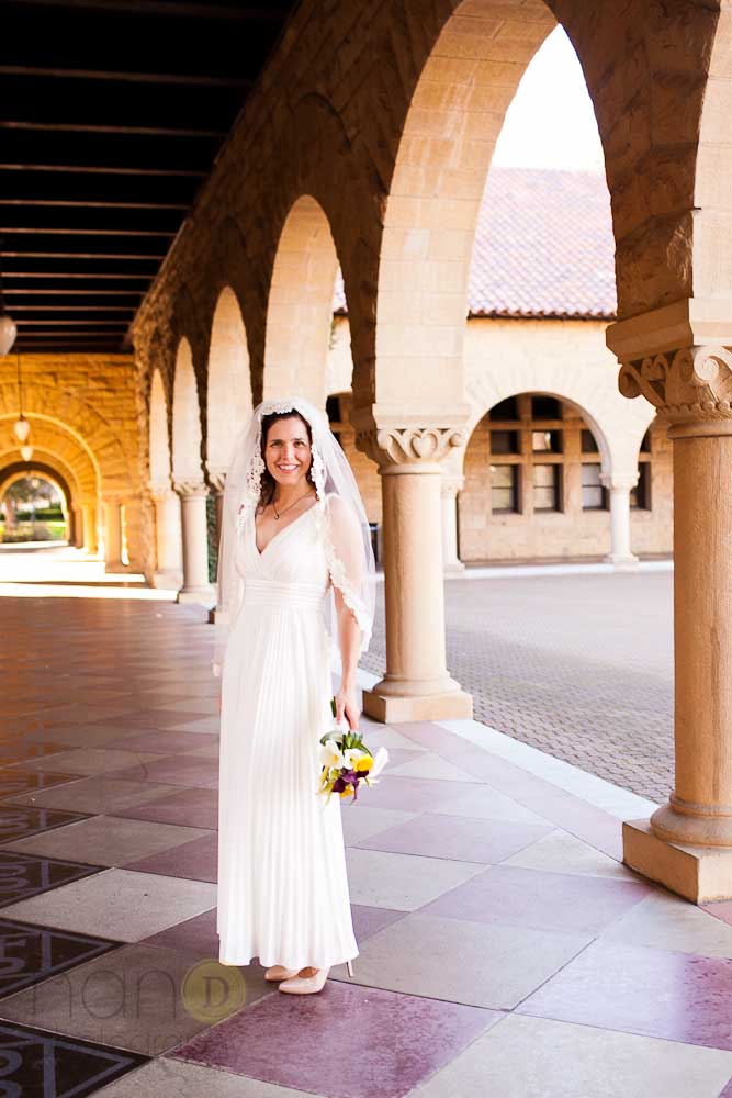 Bride at Stanford University