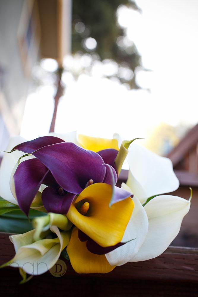 flowers wedding details photo