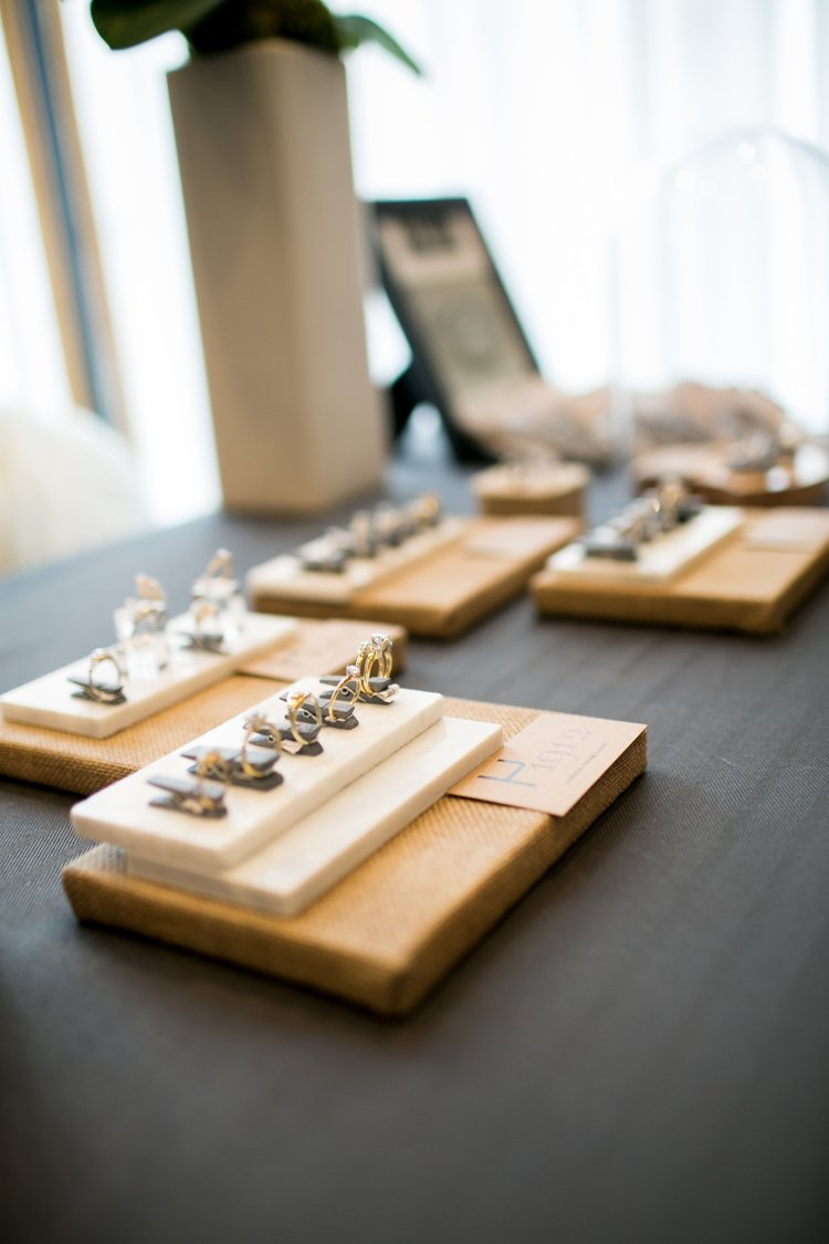H1912 Hamilton Jewelers Vintage restored jewelry at The Princeton Wedding Show at Nassau Inn. Photography by Princeton wedding photographer Nan Doud Photography.