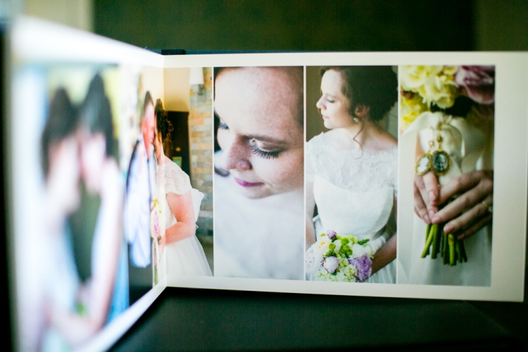 I design your photo album with both the flow of the day and aesthetics in mind. Simple. Clean. Elegant. I select from the best of your wedding day images, saving you time and allowing you to get your album in your hands quickly for you to enjoy. When doing album design themselves, many couples end up delaying the process for years... even decades.