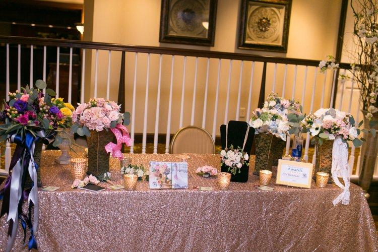 Petal Pushers at The Princeton Wedding Show at Nassau Inn. Photography by New Jersey wedding photographer Nan Doud Photography.